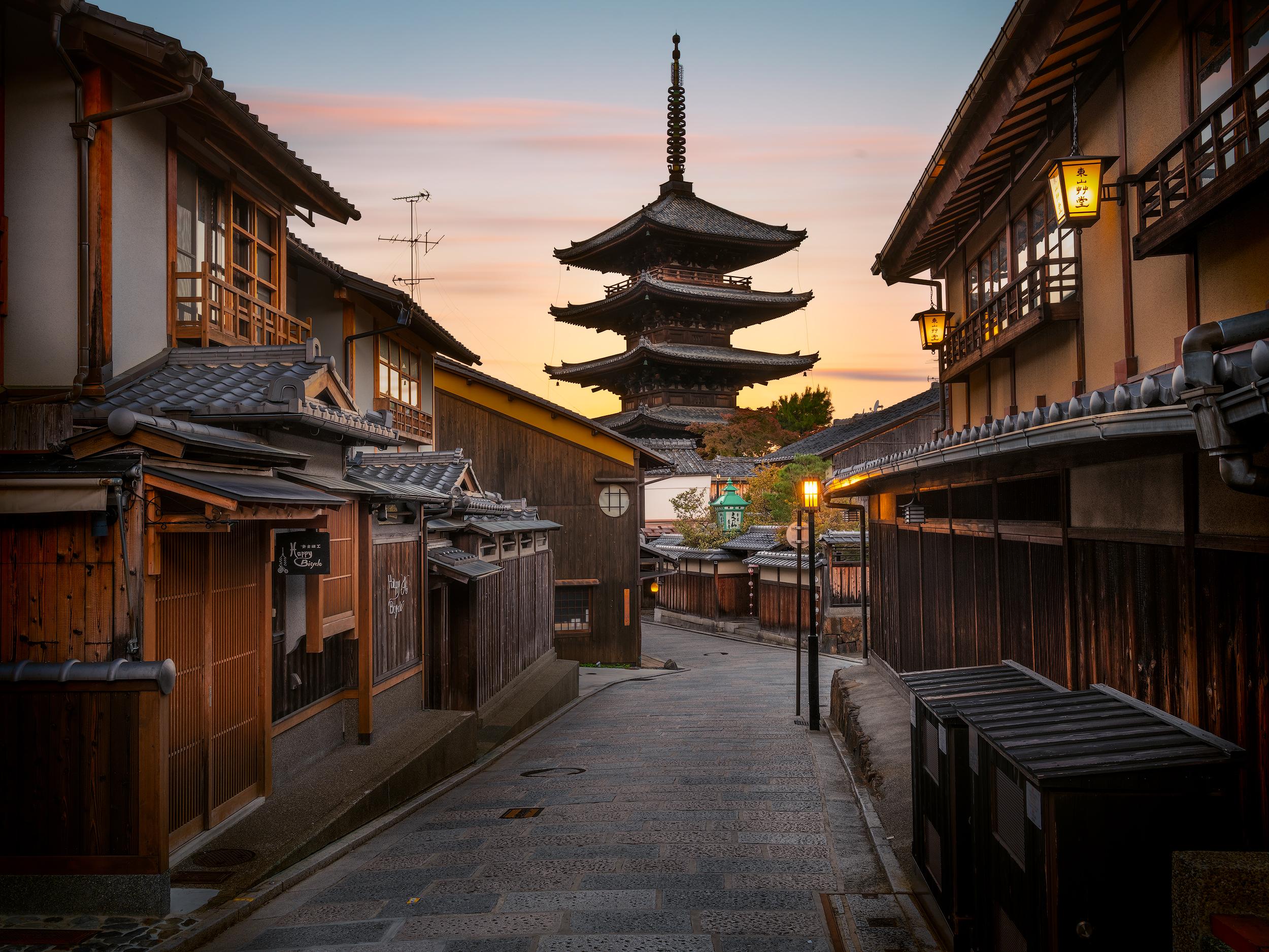 Yasaka Pagoda Kyoto Mark Benson Photography